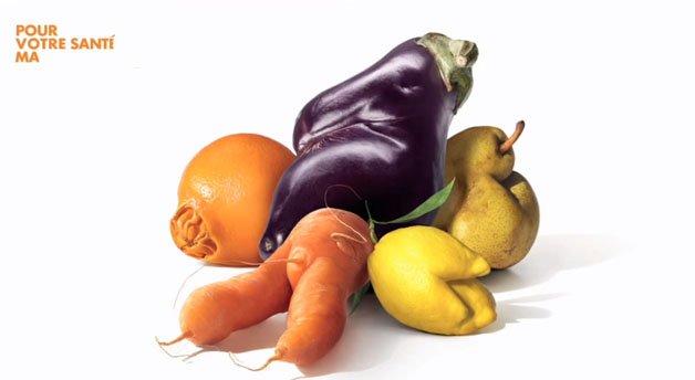 Aparência imperfeita de frutas e legumes é um dos motivos que leva ao desperdício