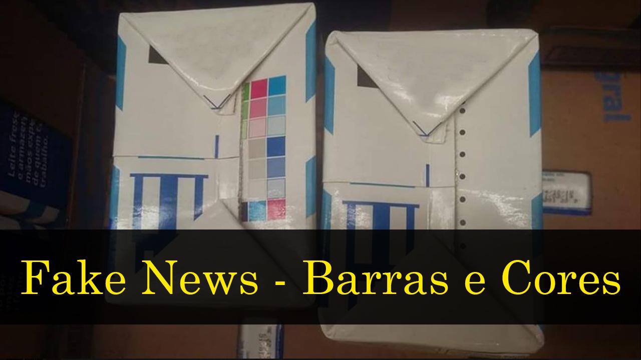 Fake news: o que você deve saber sobre as barras coloridas em caixas de leite