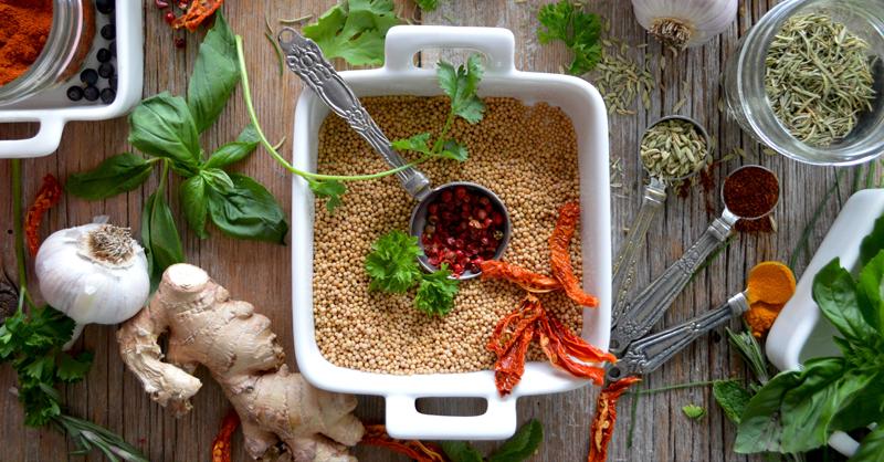 Temperos naturais: opções para dar mais sabor aos preparos