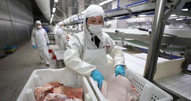 Produção de carne suína da China em 2020 supera estimativas